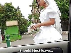 Esposa objeto de dumping de Amirah de Adara polvo al aire libre