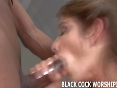 Big black cock gets me soaking wet
