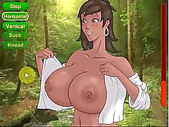 Hentai sex game big boobs in forest