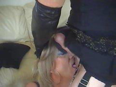Sexy Mature British Tranny Fuck Slut 08