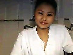 Симпатичная Азии девушка От Thailand