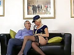Sexy euro air stewardess