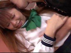 Noriko Каго школьницей порнуха в Японской домашнее видео