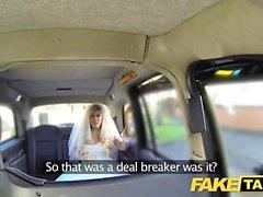 Fake Taxi brud att vara flyr från sitt bröllop