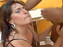 Huge clit latina deep ass fucking