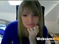 heetste blonde 18yo tiener douche haar mooie tieten op webcam 2