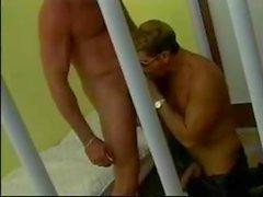 Cop & prisoner