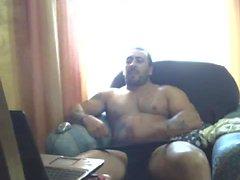 Str8 тату с мускулатуры папы Дрочит на камеру