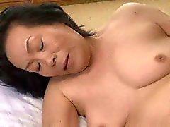Старая женщина Kobayashi Юми 65 годами