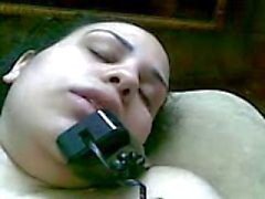 Masturbación de teléfono Arábica