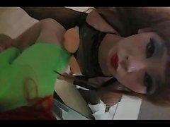 Amateur kinesisk TS Knulla flicka med strumpor Gay Porn 51
