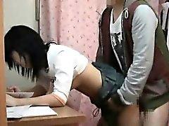 étudiants Spycam tâtons par schoolcoach