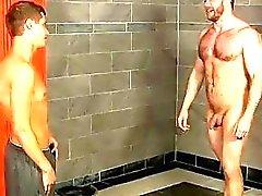 Modelli maschili Catturato nella doccia dal giovanissimo , Ct di Shay Semplicemente non posso