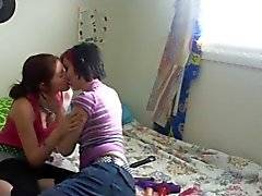 Real lesbians in bed