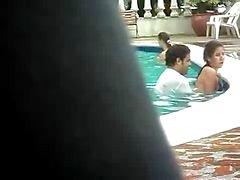 sex in een openbaar zwembad