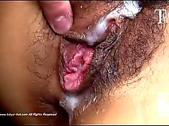 Filthy Japanese Fuck Slut Takes Creampies