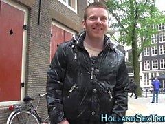 prozzie Néerlandais obtient cum