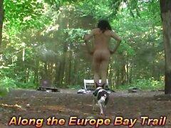 Nude nostaa kello Newport erämaassa puisto tekijänä Mark Heffron