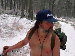 Nackt Wanderung