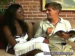 Alluring African Butt Rammed