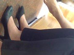 Istantanea Piedi Vietnamese Shoeplay penzoloni