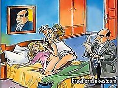 Funny porr comic jokes