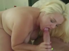Part1 Sexy curved blonde fucked Part2 on gocamstar