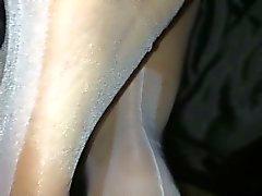 Beyaz stok ayak işi