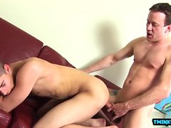 Huge dick twinks anal sex and cumshot