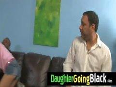 Monstruo negro fucks a mi hija joven y chocho de 2