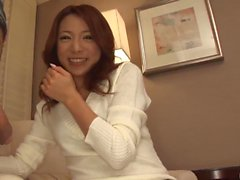 Premium-Hahn saugen POV Szenen mit Kanako Tsuchiyo