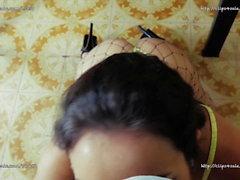 Valentina Bianco - POV Güzel Oral seks