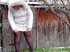 Ruso plumita chica pees