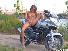 FuckDrive : Hullu Biker tyttö