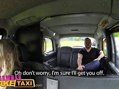 Kvinna Fake Taxi Hot milf cabbie fucks advokat