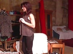COLAGGIO Erotic con bellissima sposa ceche della