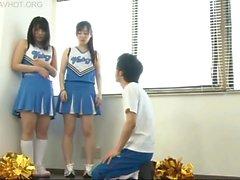 A teacher who is bullied to cheerleaders