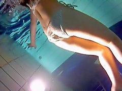 Unterwasser- Hintern