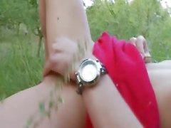 biélorusse Natasha revenir à la nature