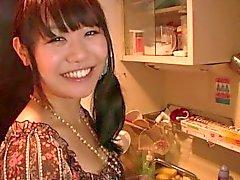Visitando a minha namorada asiática !!
