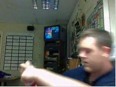 Straight guys feet on webcam #75