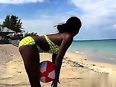 Di 2 a caldo Ragazze dell'ebano giamaicani scuotono la A - mia scopata dai CHEA