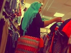 Hijab Богиней данным Жиры Ass
