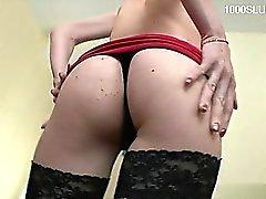 Natural tits ass worship