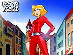 Totally Spies vídeo de sexo desenho animado