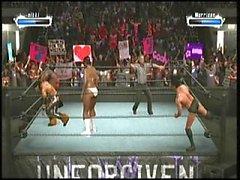 Nicole ve Morrison ve Cody Rhodes vs kristal