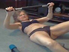 Mormor Fingrar Efter Workout