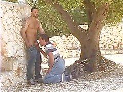 Jean Franko Ass Stabbing His Boy