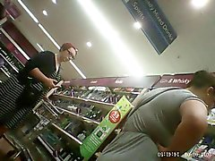 Supermarket Upskirts Hand Held Quickies