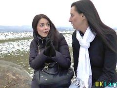 Vag probado puta británica